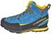La Sportiva Boulder X Mid GTX Schoenen Heren grijs/blauw